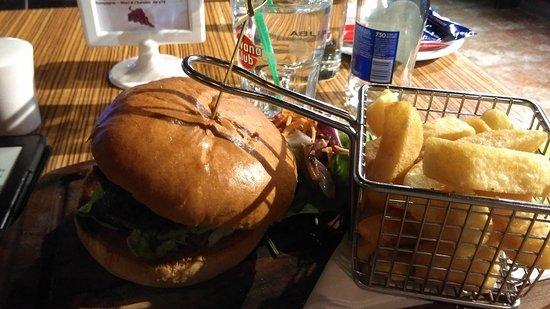 Shannon, Irlanda: zest twist burger