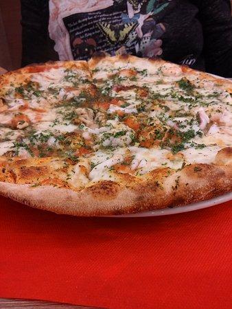 Pizza&Spaghi : Pizza ai frutti di mare