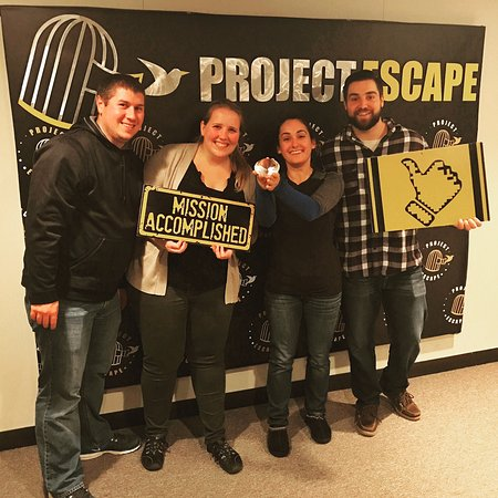 Conshohocken, PA: We escaped! But only had 40 seconds left