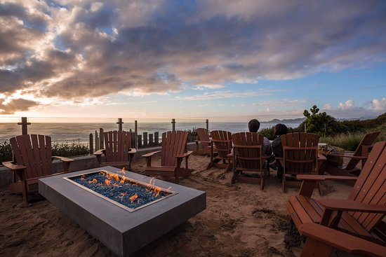 Inn at Nye Beach: Oceanfront Fire Pits