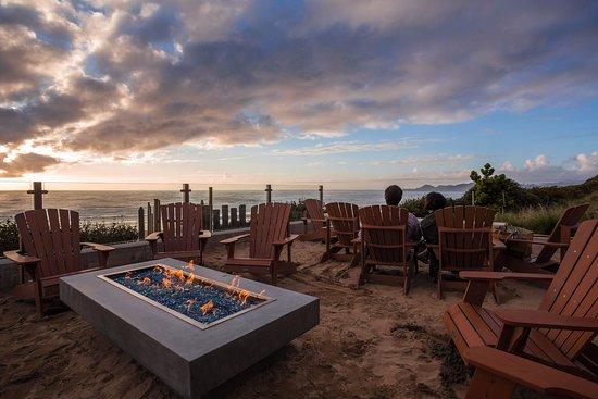 Inn At Nye Beach Oceanfront Fire Pits