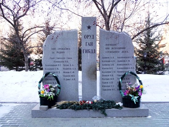 Memorial to Those Who Died on Duty