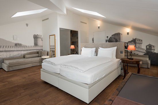 Design loft bild von hotel la tureta giubiasco for Design hotel tessin
