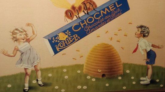 Musee au Chocolat: cute antiques