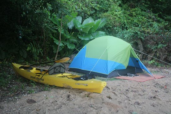 John Grays Sea Canoe Overnight Camping Tent And My Solo Kayak