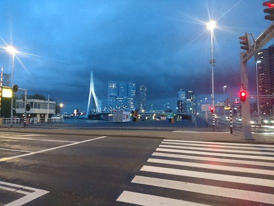 إنتل هوتلز روتردام سنتر: Erasmus Bridge
