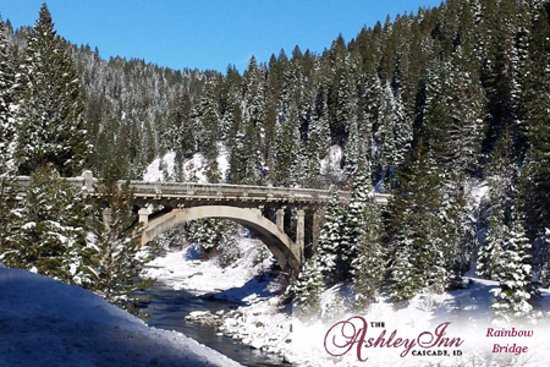 Cascade, ID: Don't miss going over Rainbow Bridge on Hwy 55.  Clear roads, beautiful scenery,.l