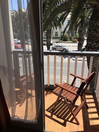 Hansa Hotel: Balcony