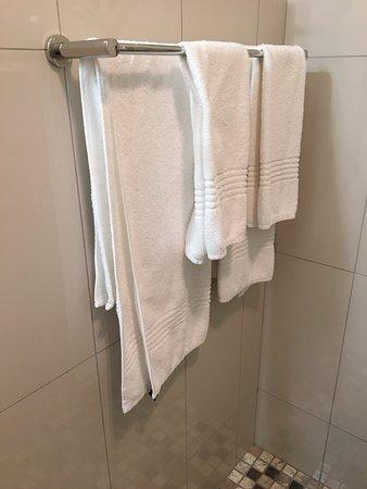 Hansa Hotel: Notice towel alignment