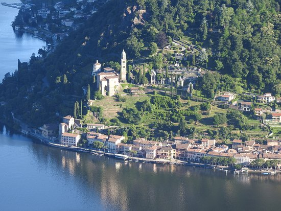 Serpiano, Switzerland: desde el balcón