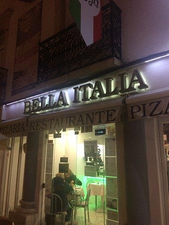 Frente Do Restaurante Foto De Restaurante Bella It Lia