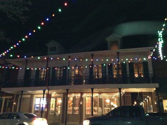 Natchitoches, LA: View of balcony from across Front St.