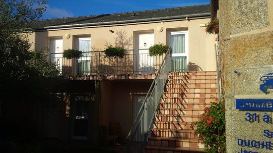 Saint-Brice-en-Cogles, Francia: Des chambres à l'écart du bruit