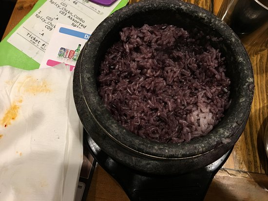 Alhambra, CA: Purple Rice Bowl