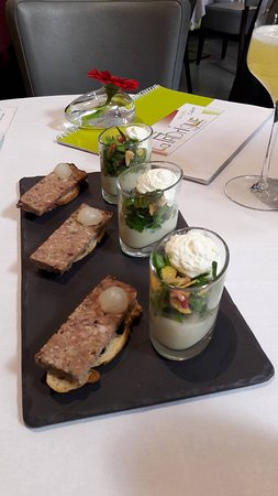 Brie-Comte-Robert, France: Amuse-bouches