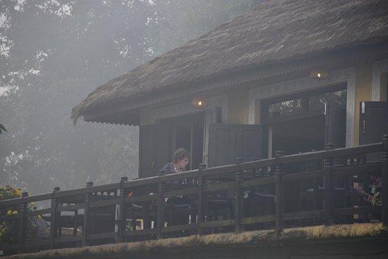 Sauraha, نيبال: Dining area