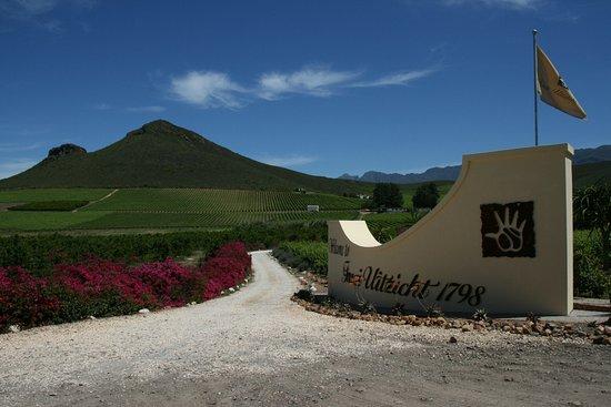 Robertson, South Africa: Die Einfahrt