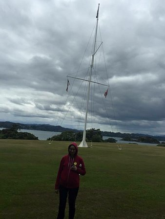 Paihia, New Zealand: Waitangi Treaty Grounds