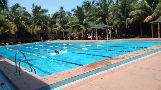 Pool - Picture of Hotel Ghis Palace, Lome - Tripadvisor