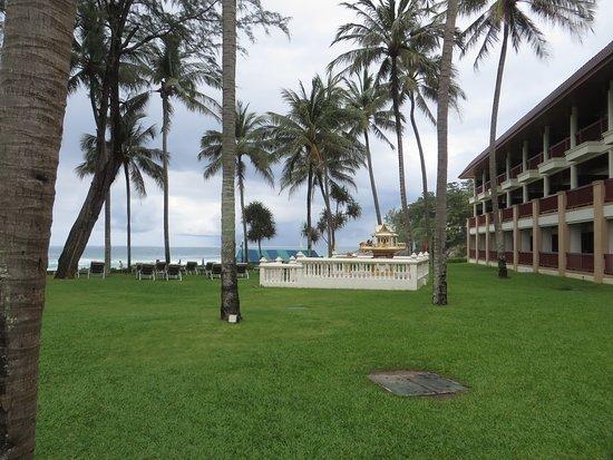Katathani Phuket Beach Resort: Zimmer direkt am Strand