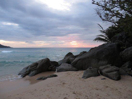 Katathani Phuket Beach Resort: Sonnenuntergang