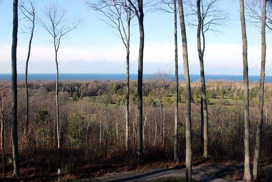 Egg Harbor, WI: view of Lake Michigan
