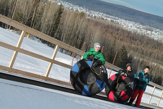 Eastlink Park: Tubing is a great family activity.