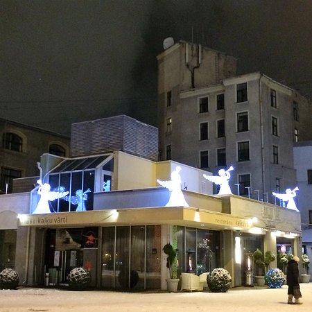 Kalku Varti: Здание ресторана