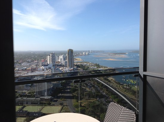 Southport, Australia: Uninterrupted views of the Gold Coast in a quiet corner