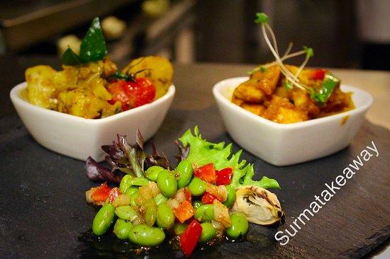 Stevenage, UK: special meal