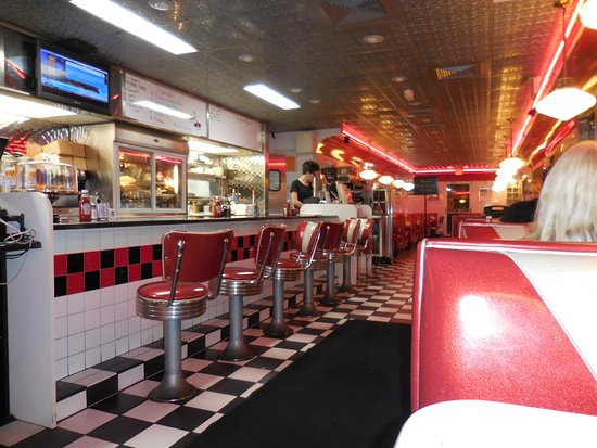 A Classic American Diner Inside and Out - Picture of ...  A Classic Ameri...