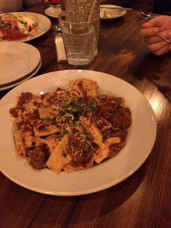 Fayetteville, AR: House made pappardella- just as good as in Italy!!!