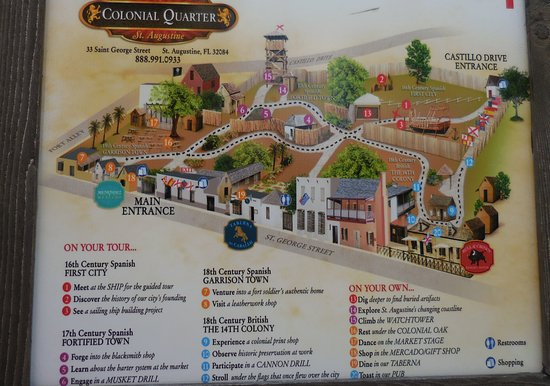 Colonial Quarter: A Great Living History Summary of the Nation's Oldest City