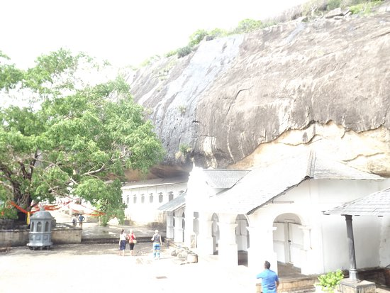 Νταμπούλα, Σρι Λάνκα: cave temple