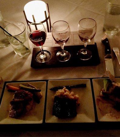Flight Restaurant & Wine Bar - Memphis: 3's the magic number here!