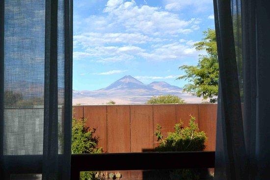 Tierra Atacama Hotel & Spa: Nice view of Licancabur volcano