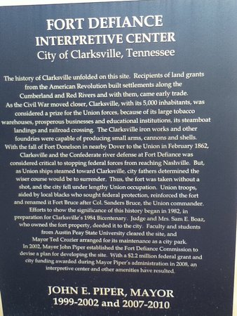 Clarksville, TN: Great site to make a visit to
