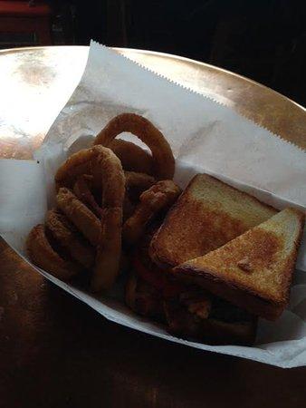 Marietta, GA: Dakota Burger and Onion Rings were INCREDIBLE!!!