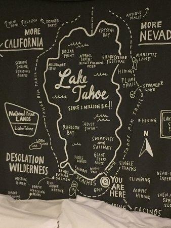 Basecamp South Lake Tahoe: Decor in room