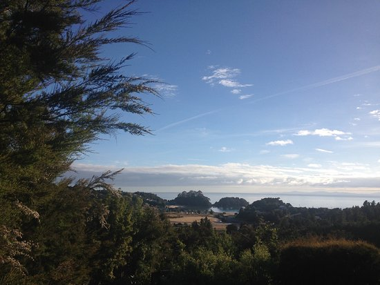 Kaiteriteri, Neuseeland: 3 of us were in room 22, it is higher up the hill and we think has the best view