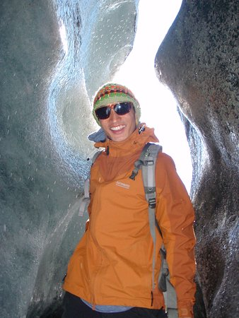 Experience Athabasca Glacier. Ice caves are amazing!