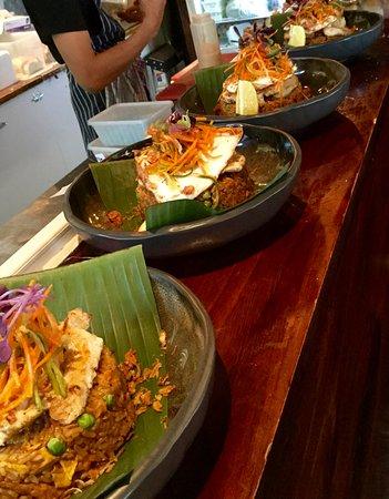 Toorak, Avustralya: Chicken Nasi Goreng