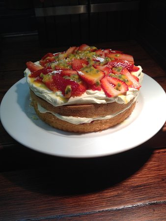 Toorak, Australien: Strawberry Sponge