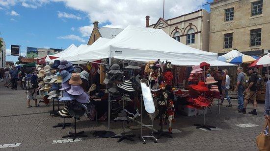 Salamanca Market: Hats