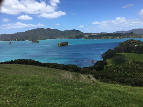 Paihia, New Zealand: It is almost as if you are travelling through layers and layers of islands, each more more beaut