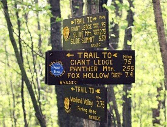 New Paltz, NY: Many trails
