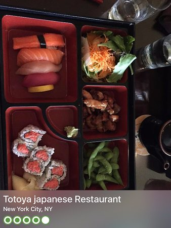 totoya japanese restaurant advertisement that captures the quality of the food