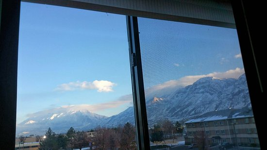 Provo, UT: This is what awaits you when you open the curtains in the morning. Awesome view.