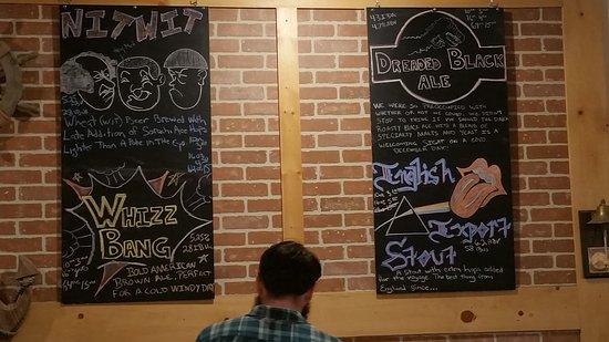 Sturgeon Bay, WI : Beer list as if 12/3/2016