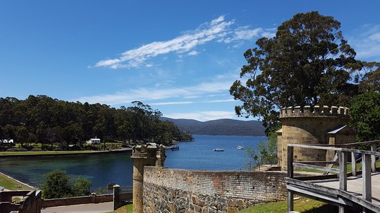 Port Arthur, Australia: Views from up the hill